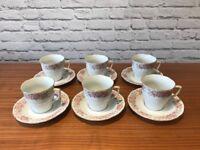 Tea set & plates