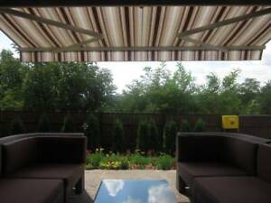 AWNINGS! COMMERCIAL AND RESIDENTIAL! MOTORIZED AND MANUAL! RETRACTABLE AWNINGS!