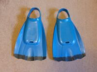 BODYBOARDING FINS - EXTRA LARGE SIZE - Very Good Condition