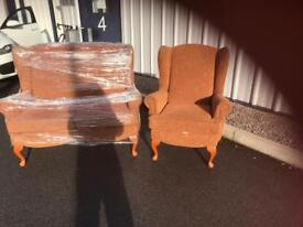 Vintage 3 piece in need of upholstering