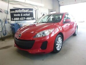 2013 Mazda Mazda3 GS-SKY $ 34.65 /SEM +TX TOUTE EQUIPÉ  A VOIR