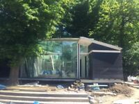 Glass Garden Summer House - Sauna for sale!