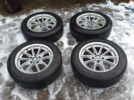 "Genuine BMW 2015 X3 17"" Alloy Winter Wheels & Tyres"