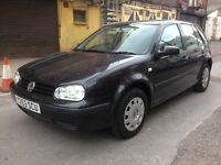 Vw Golf Mk4 1.6 Petrol - Black
