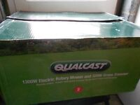 Qualcast 1300w Rotary Lawnmower & 320w Grass Trimmer