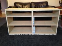 WOODEN IKEA UNIT WITH SHELVES (TV STAND / DVD SHELF) WOOD
