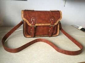 Satchel Style Crossbody Shoulder Bag