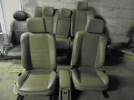 beige full leather interior seats door cards renualt megane maybe traffic vauxhall vivaro camper vw