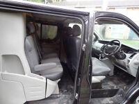 RENAULT TRAFIC SPORT LWB CREW CAB OR CAMPER VAN NO VAUXHALL VIVARO MERCEDES VITO VW T5 FORD TRANSIT