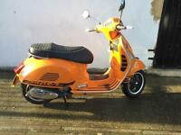 Vespa GTs super 2013 low mileage 125cc