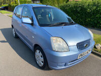 One owner KIA PICANTO 1.1 LX 5Dr with *Only Low 40K Mileage& Full-Service History &IN MINT Condition