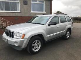 2006 Jeep Grand Cherokee 3.0 Crd Limited / Part Exchange considered