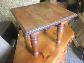 Small pine table