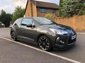 2014 CITROEN DS3 1.6cc DIESEL e-HDI AIRDREAM DSTYLE PLUS ONLY 34000 miles NEW MOT.