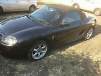 2003 MG TF convertible, metallic black