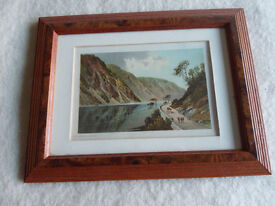Two Framed Prints of Old Oban Area.
