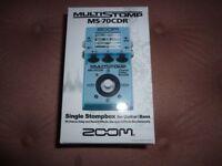 Zoom multistomp pedal