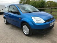 LOW LOW MILES ONLY 52k, 2003 53 reg ford fiesta 1.25 FINESSE,HPI CLEAR,FSH,1 owner