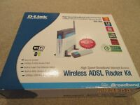 D-Link Wireless ADSL Router Kit