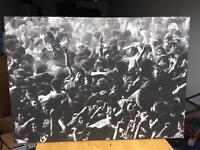 Large photo canvas