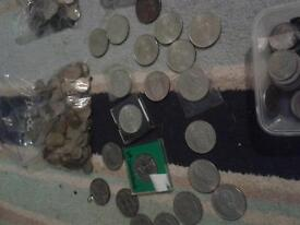 Large coin collection mainly pre decimal