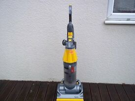 DYSON DC07 UPRIGHT BAGLESS VACUUM, FULLY CLEANED AND INCLUDING TOOLS