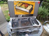 Electric warming tray