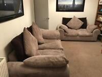 1x three seater and 1x two seater sofas - great condition - £150 ono