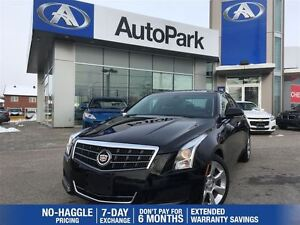2013 Cadillac ATS Luxury/LEATHER/SUNROOF/REARVIEW CAMERA/ALLOYS