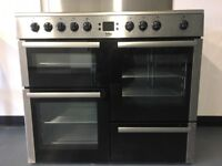 Beko Electric Range Cooker 5 Burner Hob Great Condition