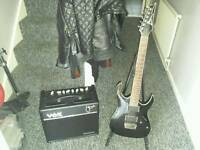 URGENT SALE..Ibanez RGA 42 Guitar and Vox VT 40+ Amp