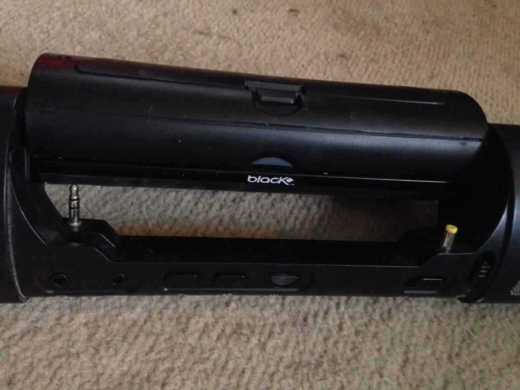 PSP dock speaker