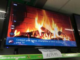 "Sharp 40"" Smart LED TV - brand new with box"