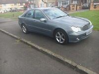 Mercedes Benz c class diesel hpi clear