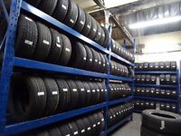 OVER 3000 PART/WORN+NEW TYRES UNDER 1 ROOF *TXT TYRE SIZE TO 077... FOR PR & AV open 7 DAYS TIL 6PM