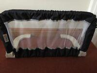 Safety 1st Dark Blue Adjustable Folding Bed Guard