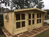14x8 tanalized summer house