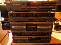 AIWA sterio system tape,grafics equalizer.cd,synthesized tuner