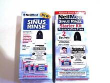 SINUS RINSE by NEIL MEDI. 2 boxes - NEW & UNUSED. Greenwith Tea Tree Gully Area Preview