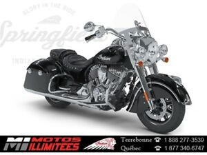 2018 Indian Motorcycles Springfield 3.99% 72 mois, 1500,00$ + 50