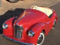 Austin J40 Pedal Car- restored, great Christmas present