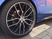"""4NEW+BOXED 18"""" BMW STYLE ALLOYS WHEELS FITS E46 E90 E91 E92 E93 M3 M4 M5 M6 Z4 F30 F31 F32 F10 F12"""