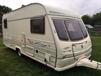 Caravan 4/5/6 berth Avondale Godiva 1996/97 Spares or repair, project, office