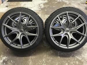 18 Avante Garde Wheels 5x114.3 & Winter tires 225/40R18 (Japanese Cars) Calgary Alberta Preview