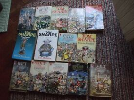 COLLECTION OF 14 TOM SHARPE BOOKS