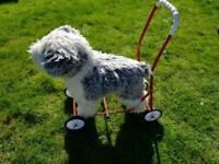 Dog toddler walking aid