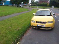 Audi s3 1.8t 265 BHP **imola yellow**