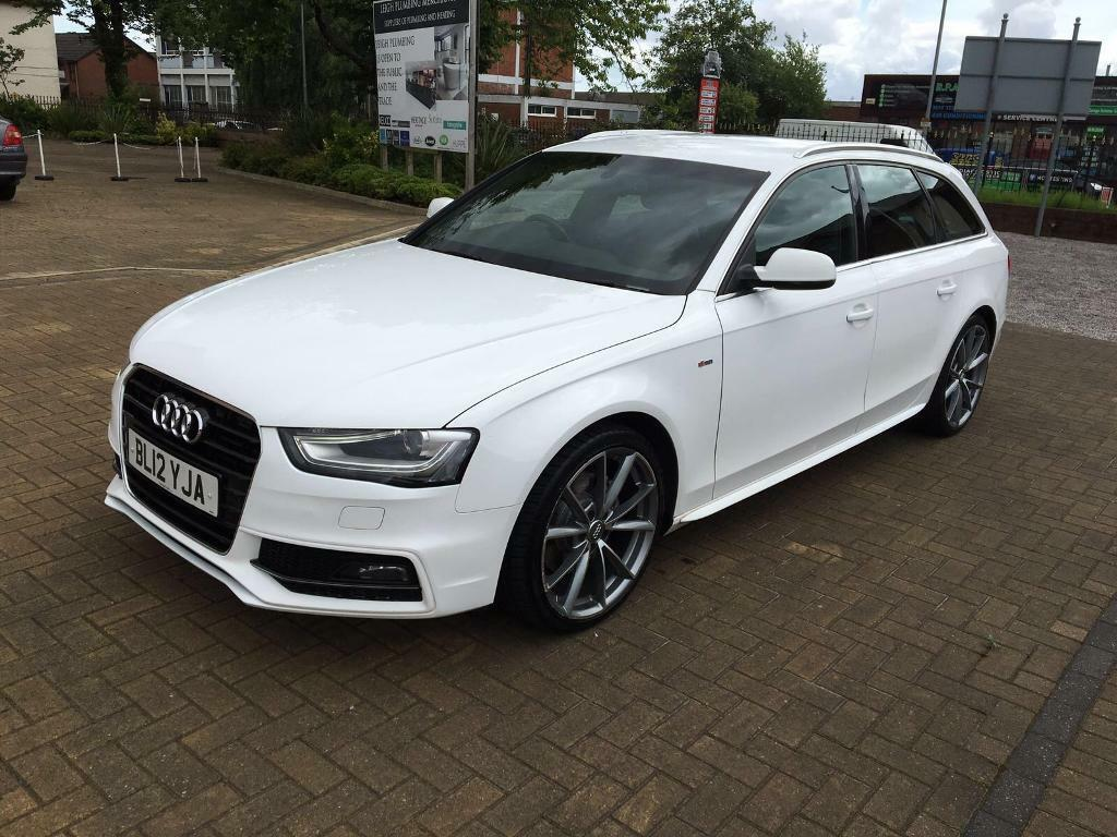audi a4 s line avant estate 2012 rs4 alloys in worsley. Black Bedroom Furniture Sets. Home Design Ideas