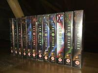X-Files complete set of 12 original feature length episode VHS videos
