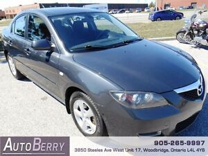 2008 Mazda MAZDA3 GS *** Certified and E-Tested *** $4,999